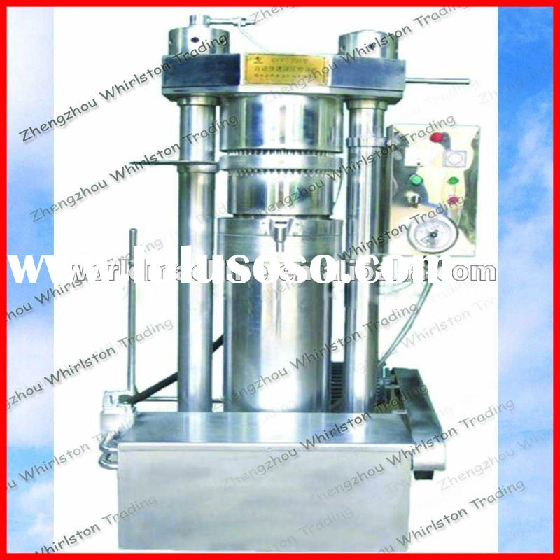 Automatic sesame hydraulic oil press machine