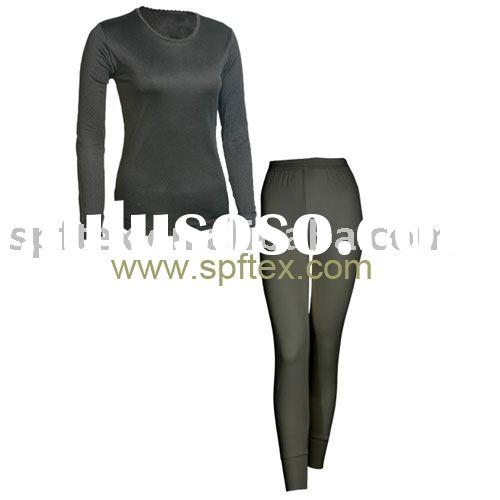 Bamboo Charcoal Thermal Underwear