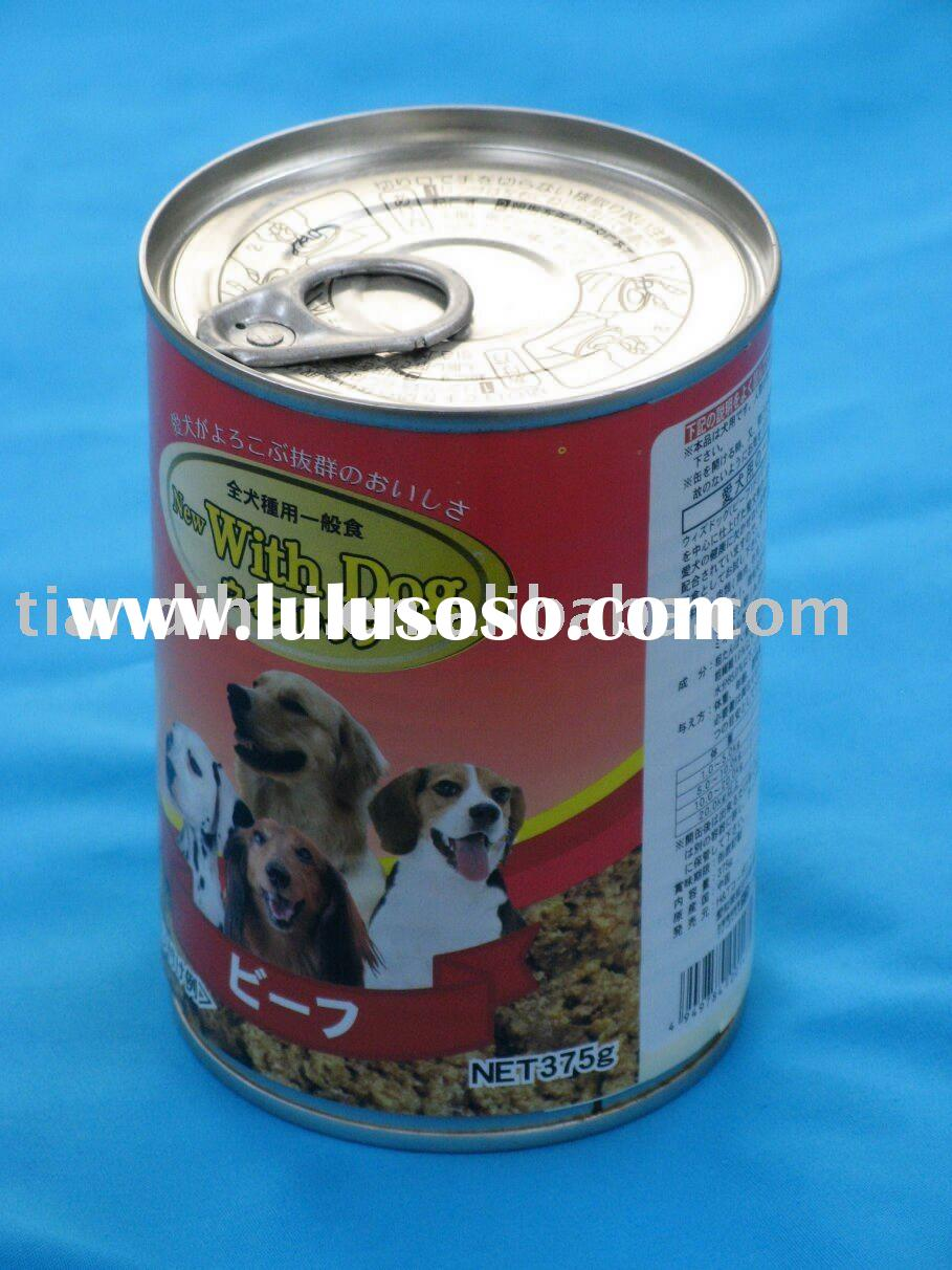 Beef formula canned dog food-dog canned food(Japan standard)