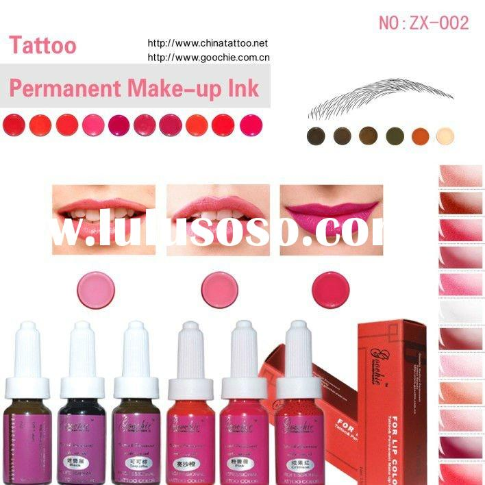 Best Tattoo Ink for Lip and Eyebrow Permanent Makeup