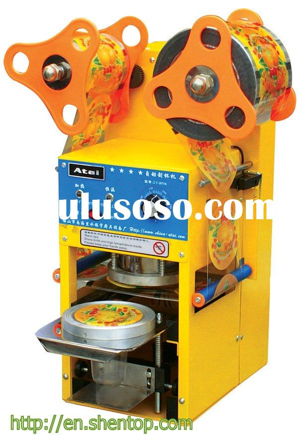 Bubble Tea Fully Automatic Cup Sealing Machine