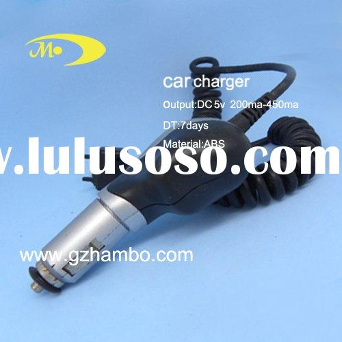 Car Charger with USB port and Various Connectors