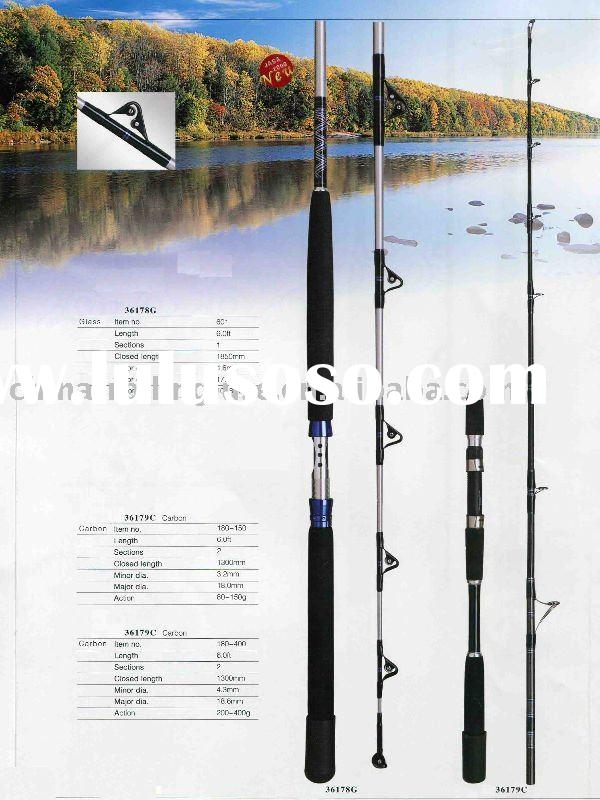 Carbon Fiber Boat Rods,Sea Fishing Rods,Big game fishing rods,36178 Series