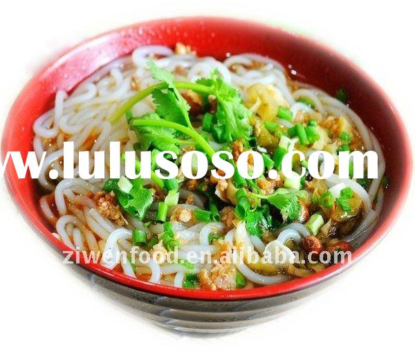Chinese instant noodles without any additive