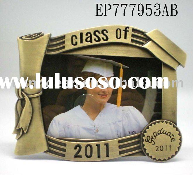Class of 2011 Graduation Photo Pewter Frame