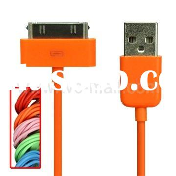 Colorful USB 2.0 Data Sync Charger Cable for Apple iPhone / iPad / iPod