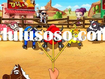 Cool cowboy,one button game,arcade game,video game
