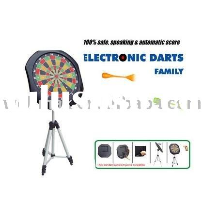 Dartboard game with magnetic darts