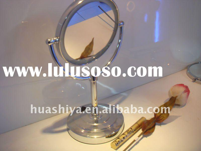 Desktop double side led lighted vanity makeup cosmetic magnifying mirror (Model No: HSY-1155)