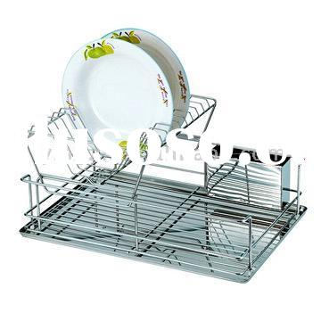 Double Dish Rack Stainless Steel Deck