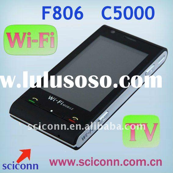 Dual sim phone C5000 with TV and WiFi