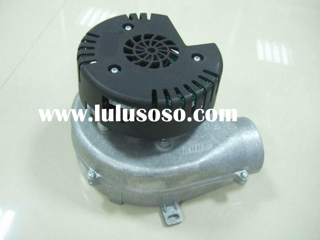 EC blower with brushless DC motor