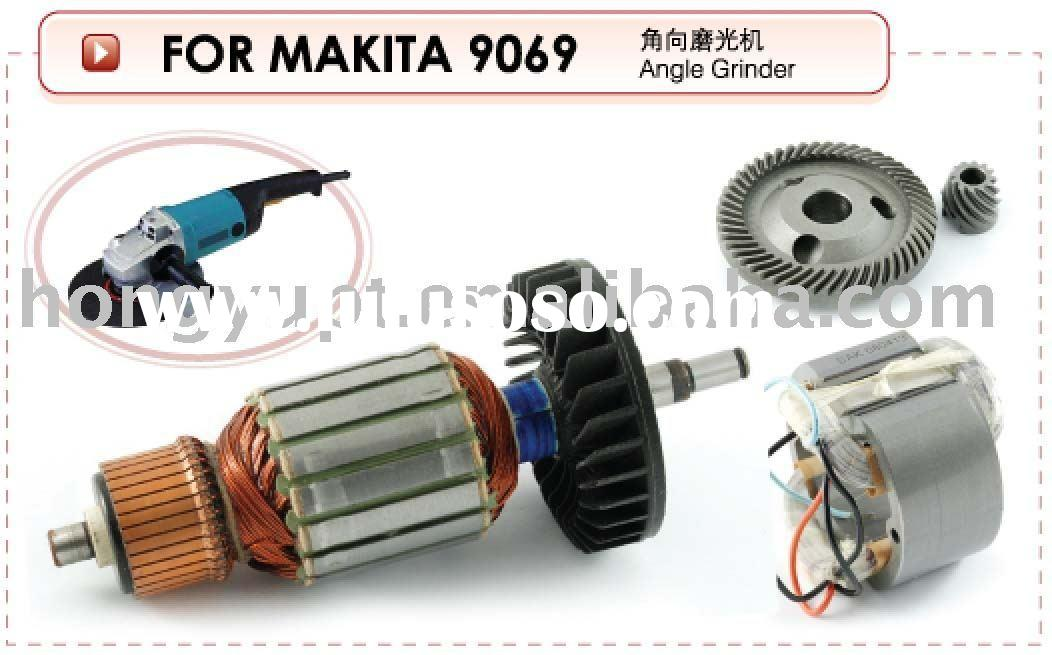Electric Power Tool Spare Parts Spares Accessories Armature Stator Rotor Field Coil Gear Sets for Ma
