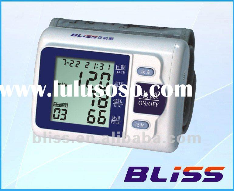 Electric Wrist Fully-Automatic Talking (English)Blood Pressure Monitor/meter