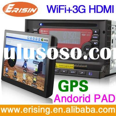 Erisin HD 7 inch Car DVD Players + WiFi 3G GPS Android PAD Smart System new arrival