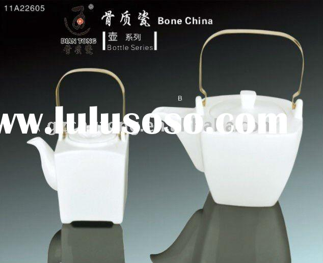Fine Bone china coffee/tea pots , white fine ceramic/porcelain coffee/tea powts, water pot&sets