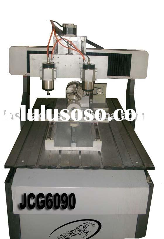 Four Axis (Rotary Axis) CNC Cutter/CNC Router/ CNC Engraving Machine JCM0609/JCM0404 MINI Model With
