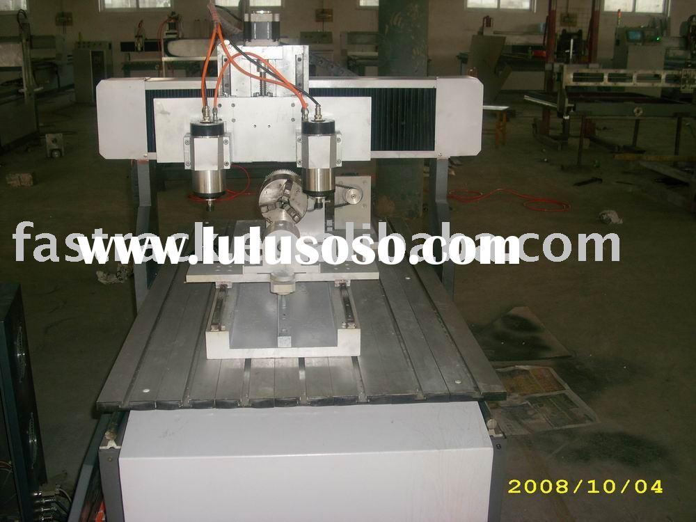 Four axis(Rotary axis) CNC router /CNC engraver/CNC cutting machine JCM6090 /JCM4040 Mini model with