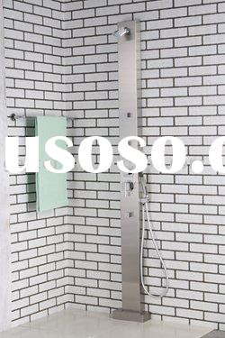 Free Standing Stainless Steel Shower Panel - S003