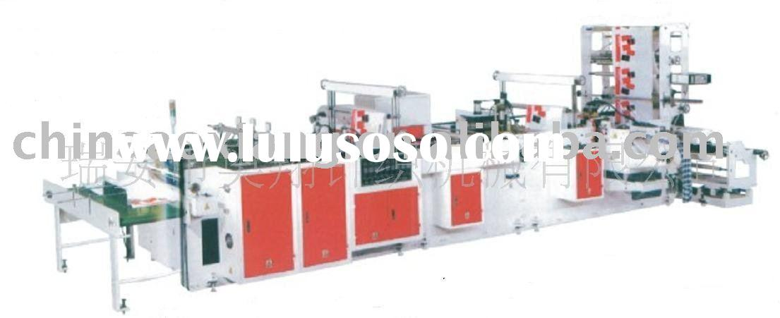 Full Automatic Plastic Hand Bag Making Machine(One Machine Four Functions)
