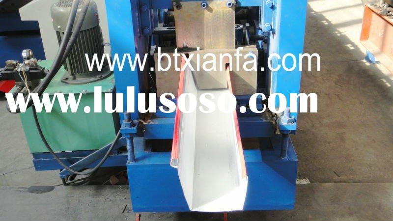 Full-Automation Steel Gutters Roll Forming Machine XF410