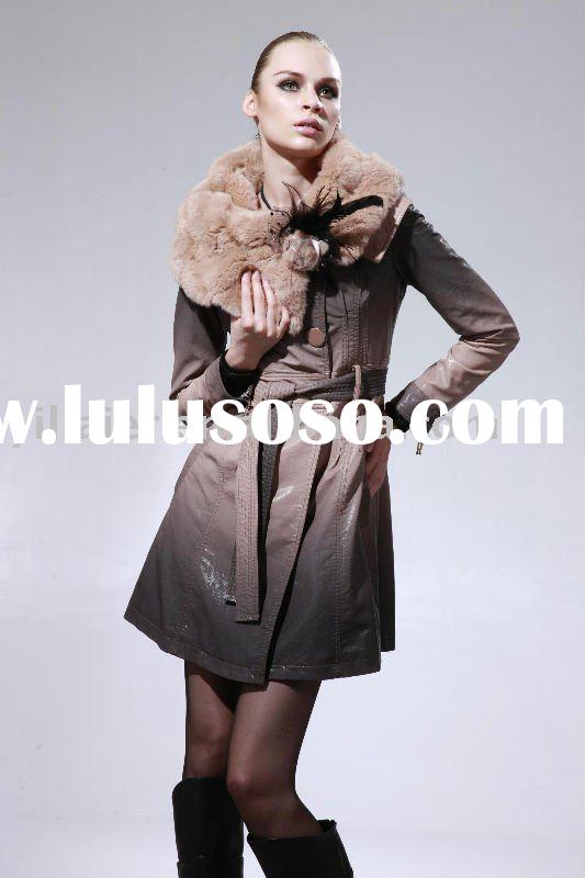 Fur Collar Coat