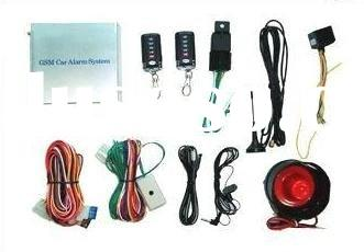GSM Car Alarm System can start the car by mobile phone