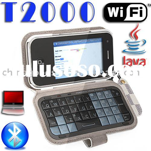 "GSM mobile phone 3.2"" WIFI JAVA TV Qwertykeypad T2000"
