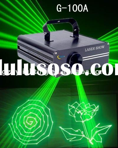 G-100A green animation laser show system,stage light for DJ,Disco.Clubs
