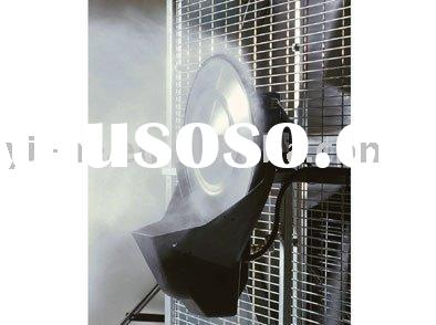 Greenhouse ventilation fan with humidifier QCHS-1000