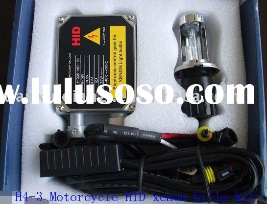 H4xenon bulb for motorcycle,H4 slim motor hid kit,H4 two claws xenon lamps