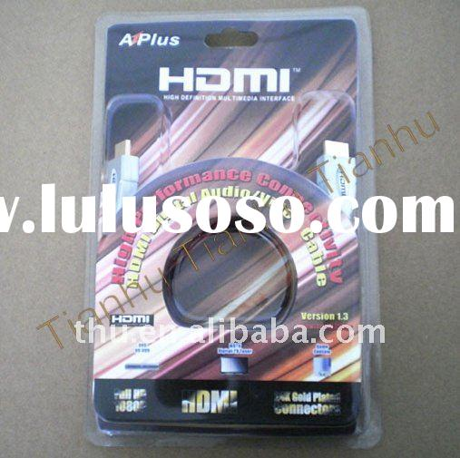 HDMI CABLE for DVD player,PS3 Game,digital satellite receivers,set-top boxes,AV receivers and an HDT