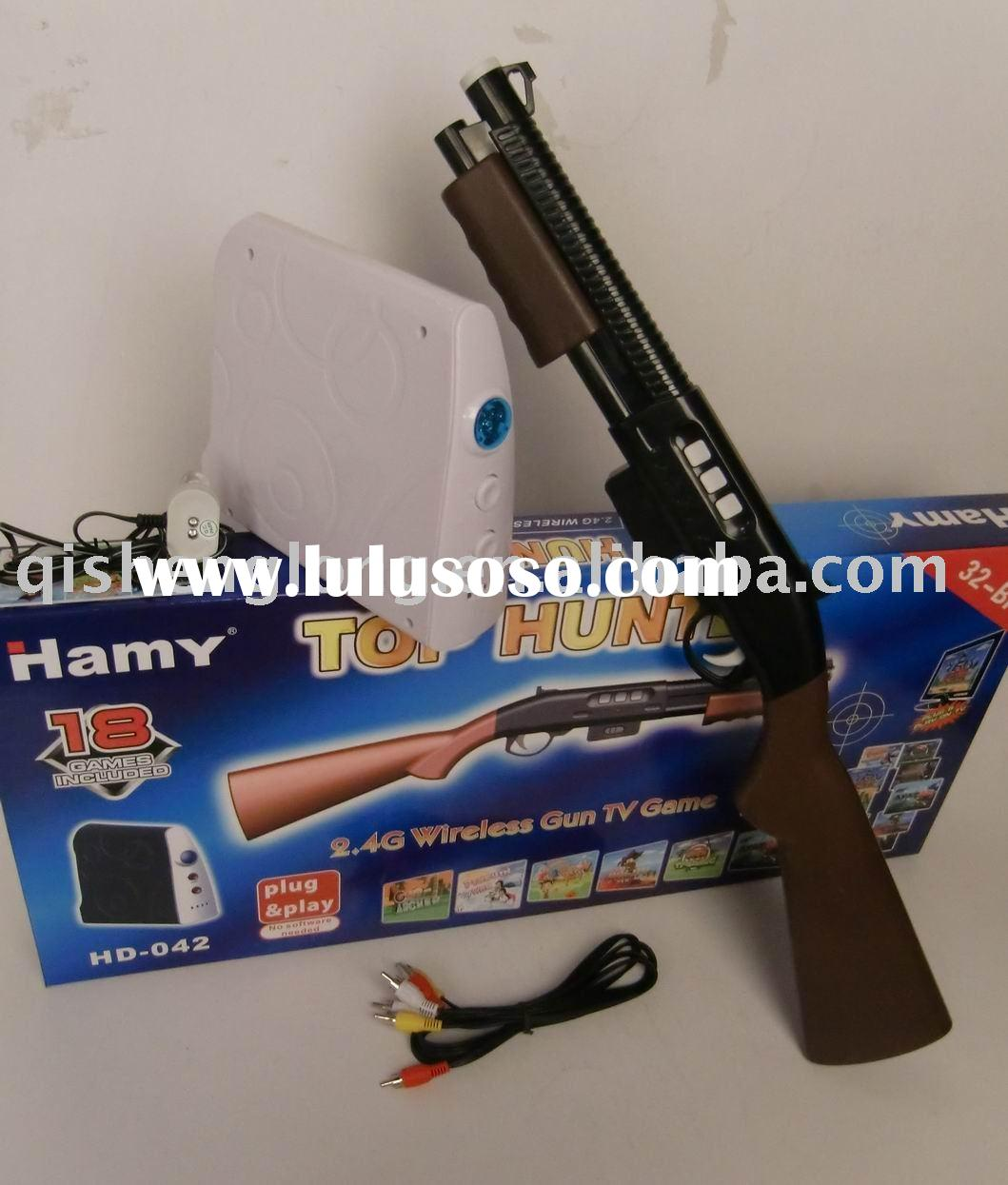 HD-042 2011 VIRTUAL SHOOTER SIMULATION GAME, 32 BITS, ABSOLUTELY NEW, 2.4GHZ WIRELESS