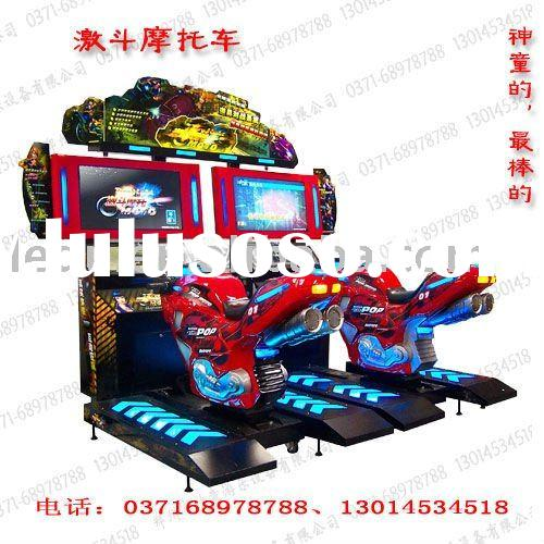 HQ coin operated simulator racing electronic game machine