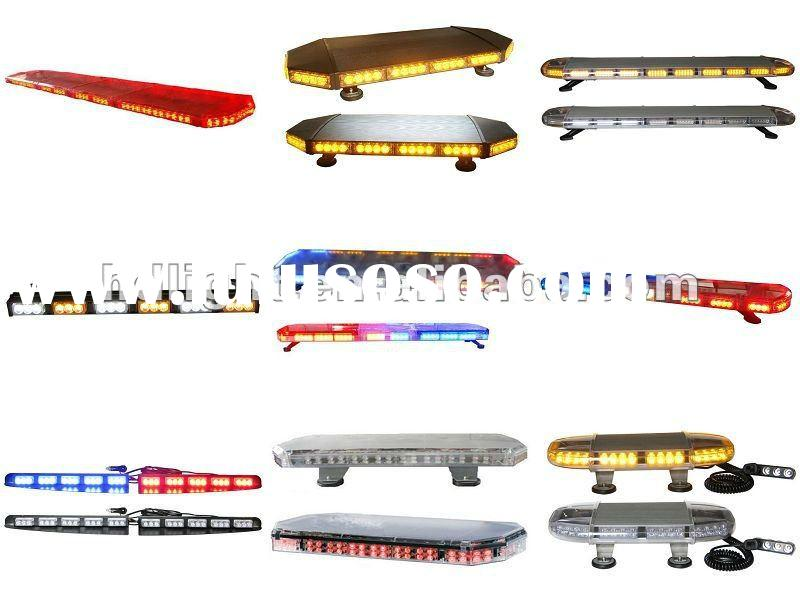 High Power 24 LED Car Auto Roof Flash Strobe Magnets Emergency EMS Warning Police Light Flashing Lig