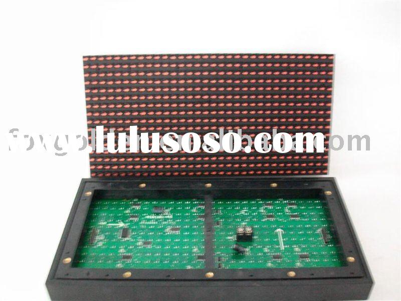 High brightness P10 Outdoor Single Red LED Module