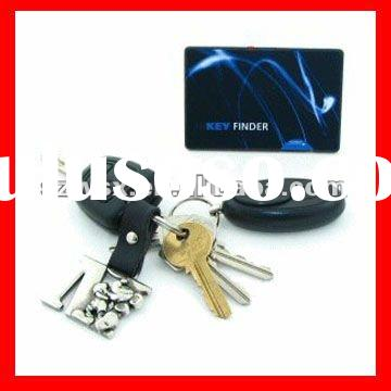 High-tech Credit Card Shape Wireless Remote Key Finder Locator with Deep Alarm and Flashlight
