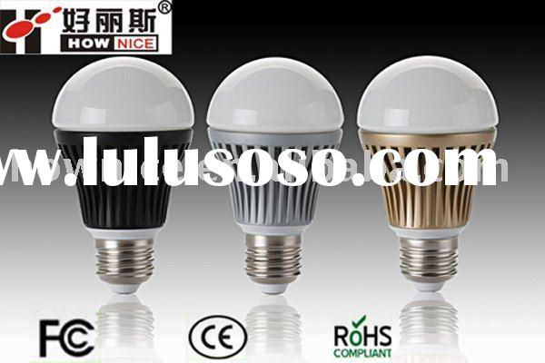 Hot sale 5 W LED ball bulb(new products) with dimmer