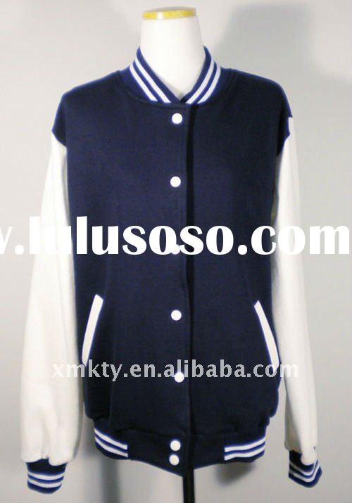 Hot sale cotton varsity jacket
