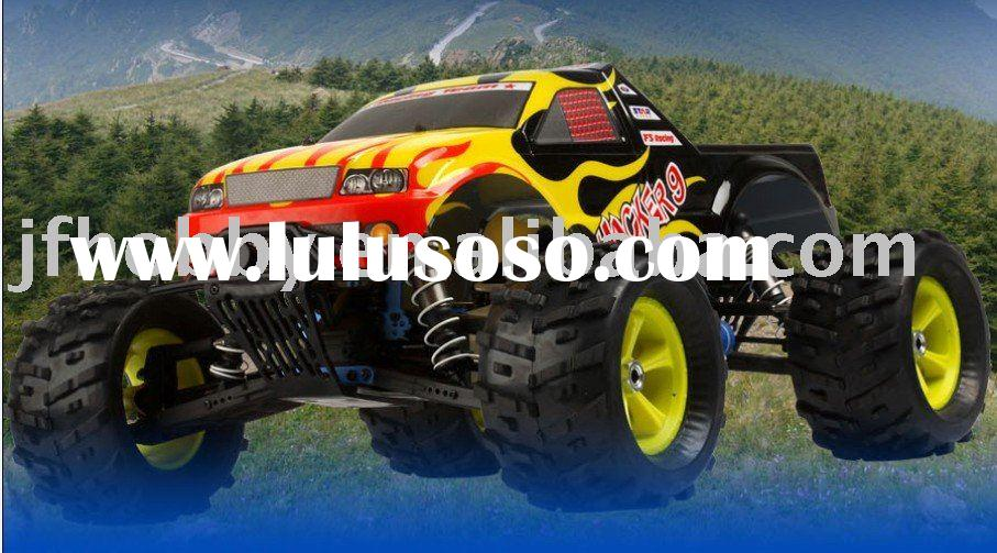 Hot sell !!! Hacker9---1:8 nitro powered 4WD monster truck