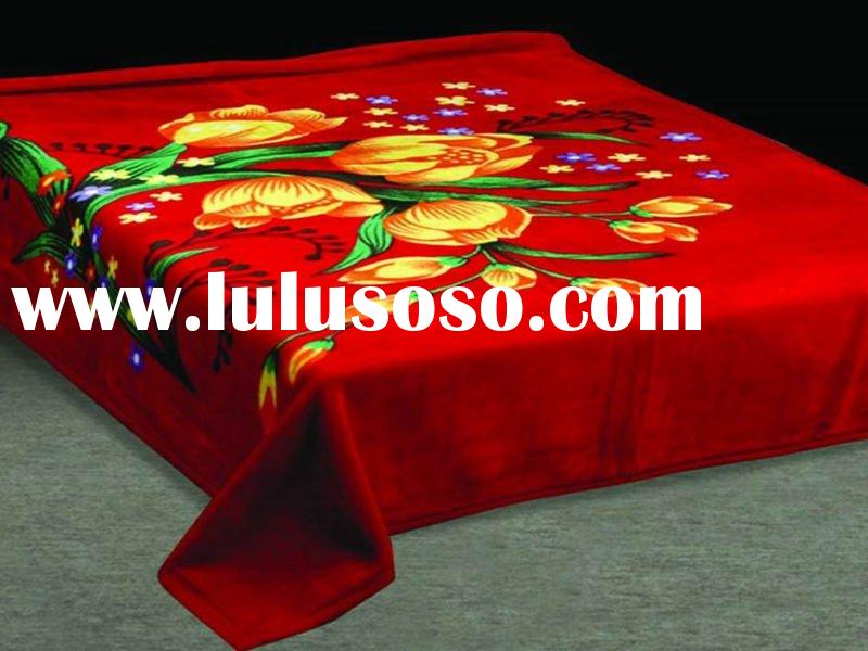 Hot sell and Good-quality Polyester Mink Blanket