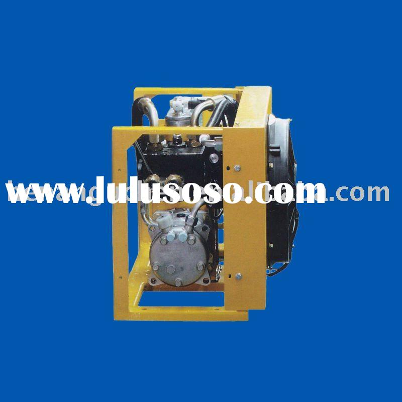 Hydraulic Driven Air conditioner for mobile cranes, mining & earthmoving plant-No motor drive