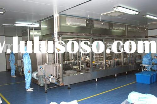 IV bag forming filling sealing production line / IV bag production line / infusion bag production li