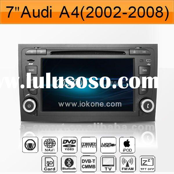In dash Car DVD GPS Navigation System for Audi A4