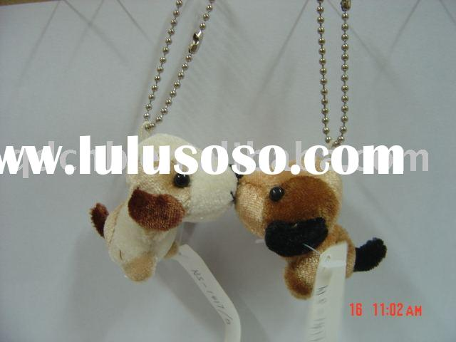 Kissing Dog Mini Plush Dog Miniature Stuffed Kissing Dog Toy