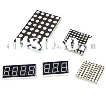 "LED Dot Matrix Display and ""8"" type LED Displays"