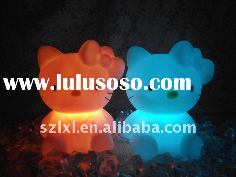 LED color changing hello kitty night light