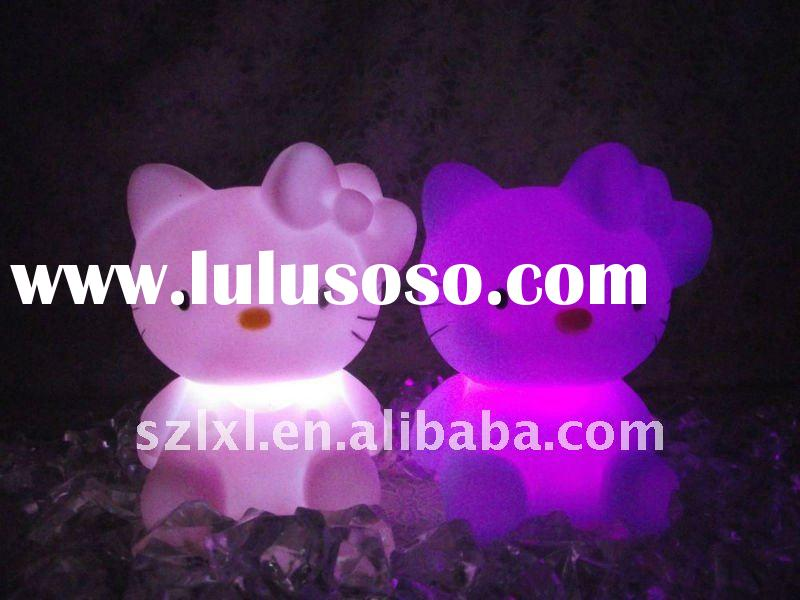 LED hello kitty color changing night light / Kids night light