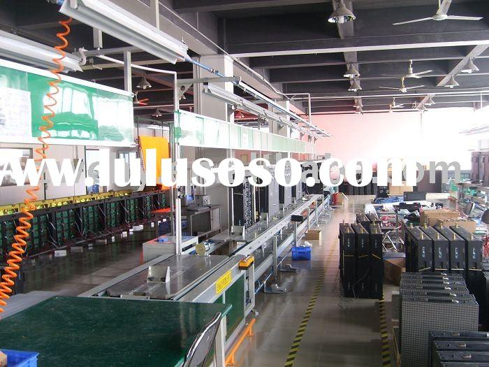LED (screen, lamp) assembly line / production line