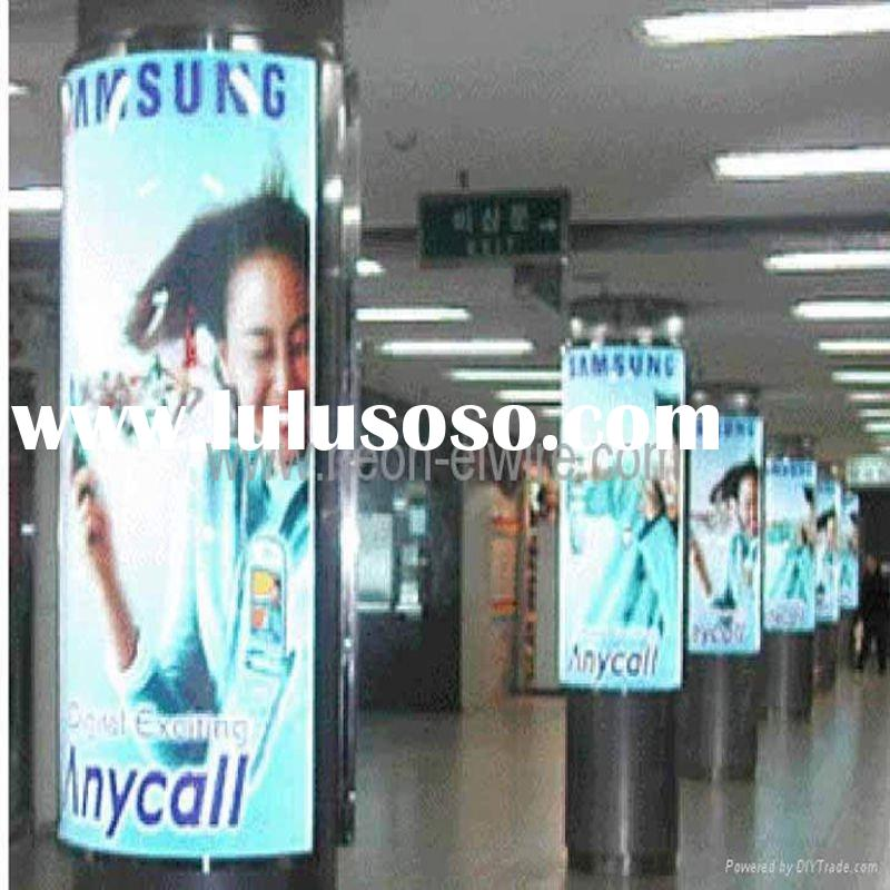 LED street scrolling advertising light box